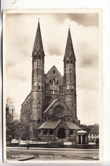 4300 ESSEN - STOPPENBERG, Katholische Kirche, 1932, kl. Druckstelle