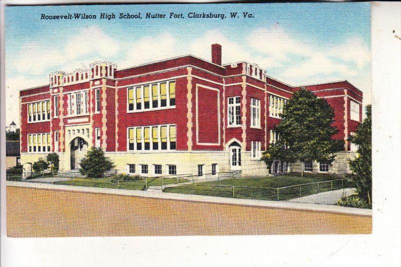 USA - WEST VIRGINIA - CLARKSBURG, Rossevelt-Wilson High School