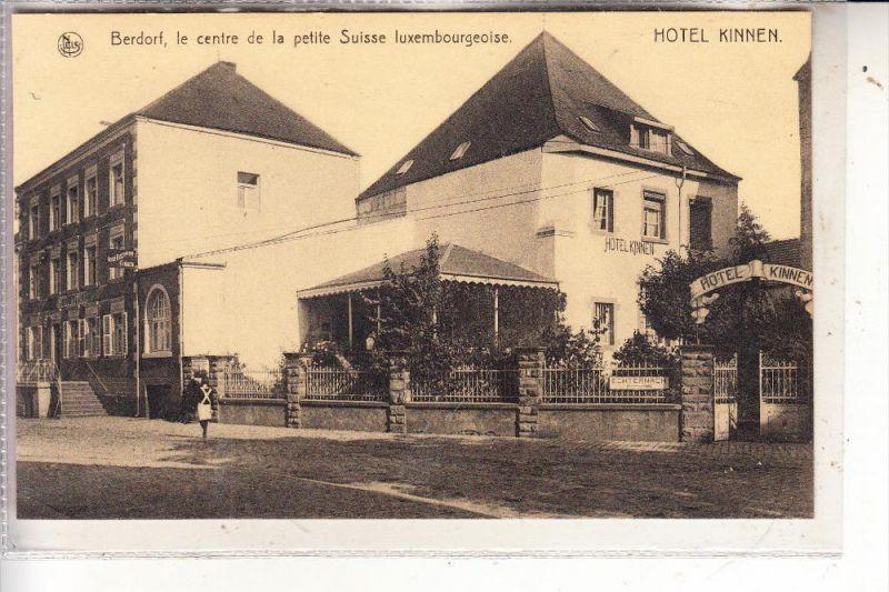 L 6550 BERDORF, Hotel Kinnen, NELS