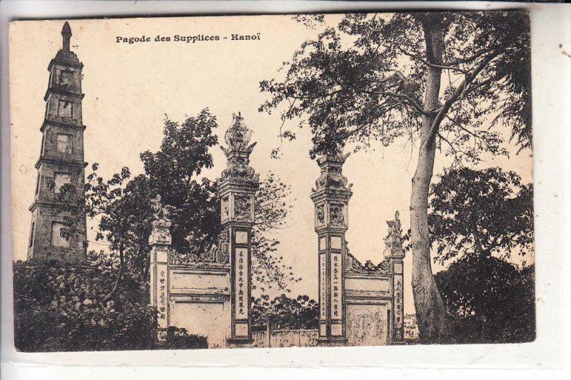 VIETNAM - HANOI, Pagode des Suppilces