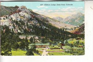 USA - COLORADO - Estes Park, Elkhorn Lodge