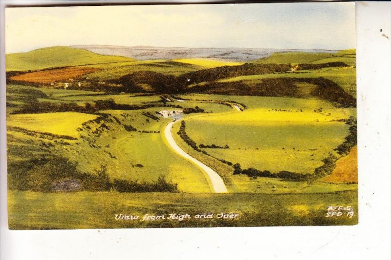 UK - ENGLAND - EAST SUSSEX - CUCKMERE, View from High and Over