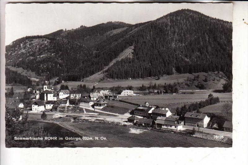 A 2663 ROHR im Gebirge, Panorama