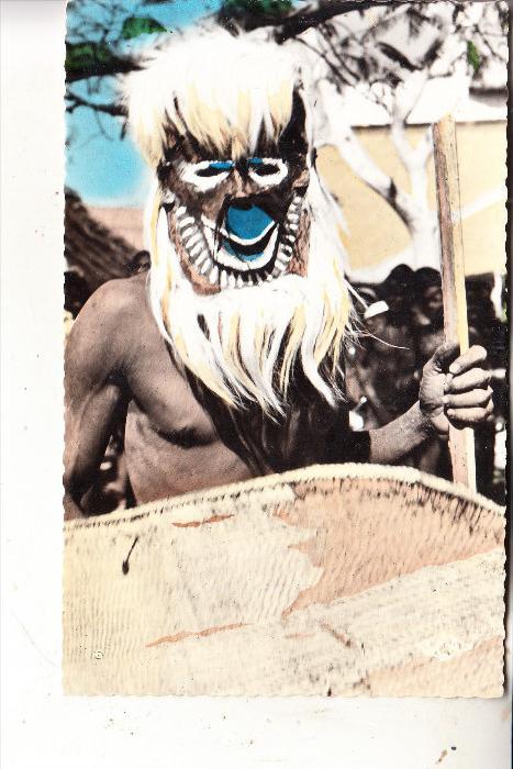 CONGO - BRAZZAVILLE, Masque de Danse bateke, Ethnic / Völkerkunde