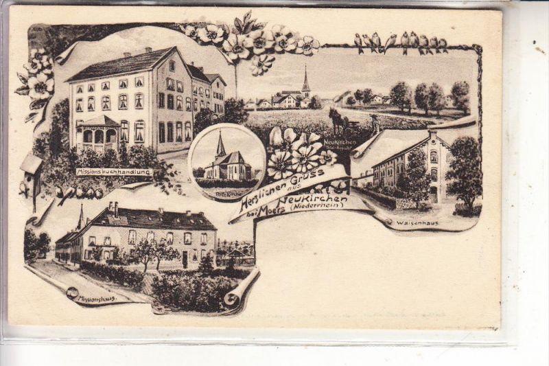 4133 NEUKIRCHEN - VLUYN, Neukirchen, 5-teilig