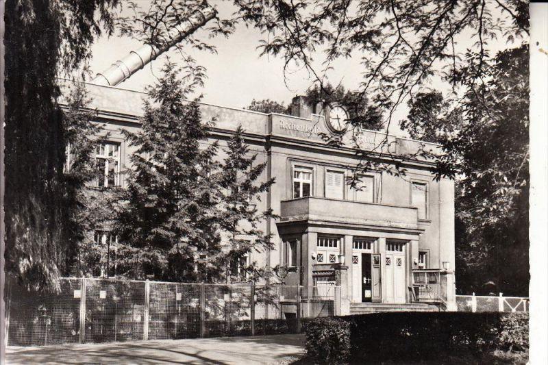 1000 BERLIN - TREPTOW, Archenbold Sternwarte