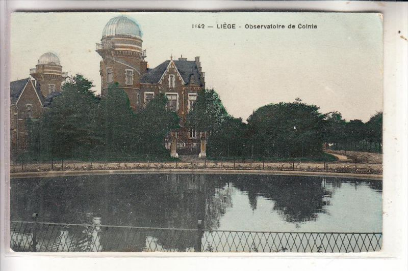ASTRO - Observatoire de Cointe, Liege, 1913