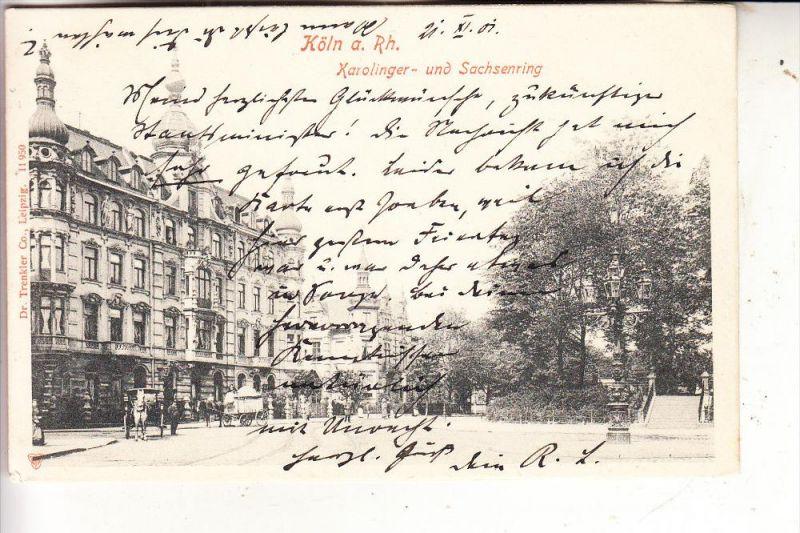 5000 KÖLN, Karolinger- und Sachsenring, 1901