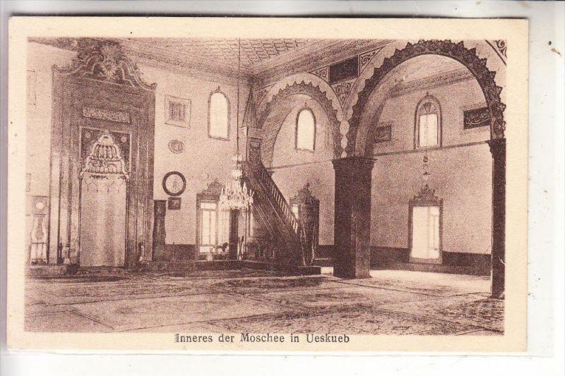 MAZEDONIEN - SKOPJE / UESKÜB, Mosque