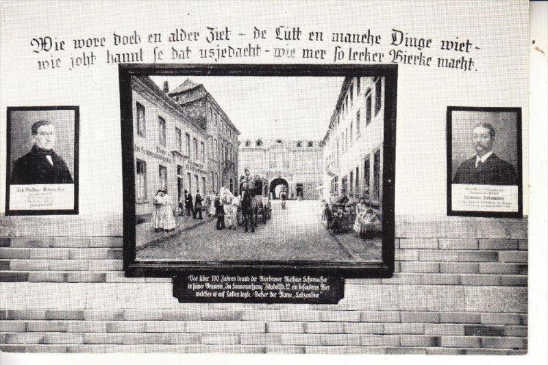 4000 DÜSSELDORF, Brauerei Schumacher, Latzen-Jazzen 1975