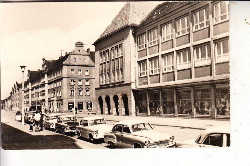 0-2000 NEUBRANDENBURG, Thälmannstrasse, 1962