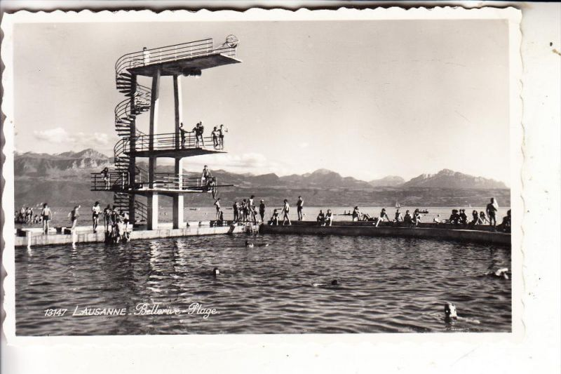 CH 1000 LAUSANNE VD, Bellerive Plage, Schwimmbad