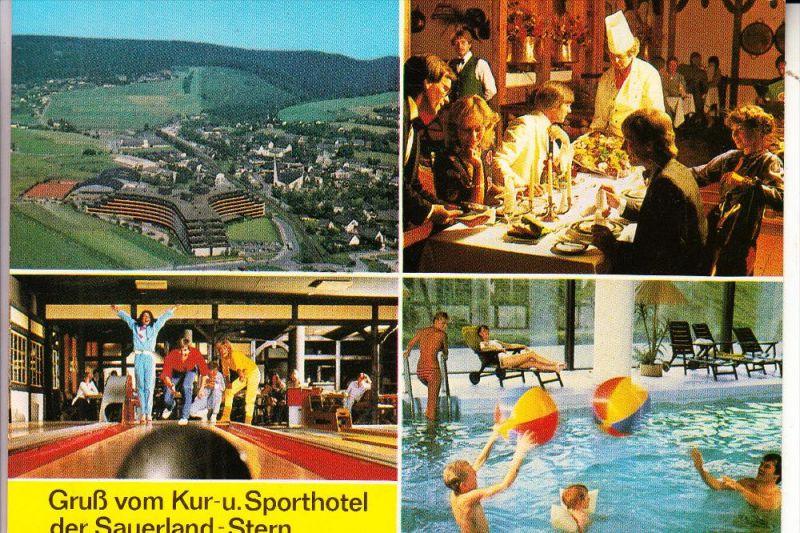 3542 WILLINGEN, Sauerlandstern, Kegeln