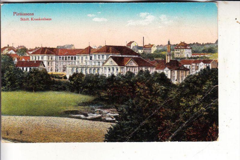 6780 PIRMASENS, Städt. Krankenhaus, Druckstellen