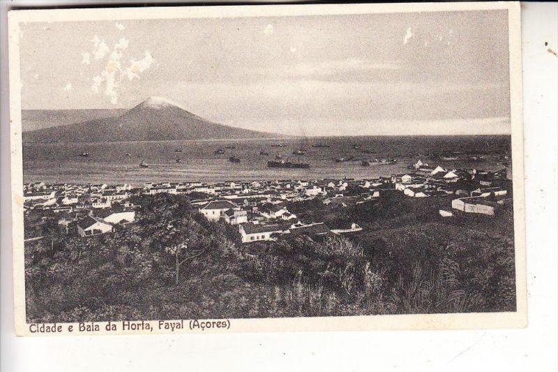 P 9900 HORTA, Isla Fayal / Acores, Oberfläche leicht berieben