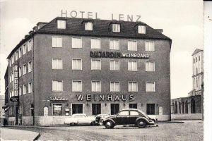 5000 KÖLN, Weinhaus Hotel Lenz, Ursulaplatz, VW-Käfer, FORD