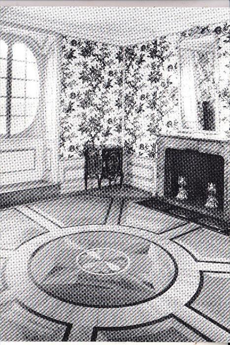 4000 DÜSSELDORF - BENRATH, Schloß Benrath, Hauptgebäude, Schlafzimmer im Obergeschoß