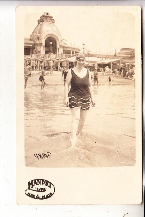 ARGENTINA / ARGENTINIEN, MAR DEL PLATA, Strand / Beach / Playa, Photo 1922
