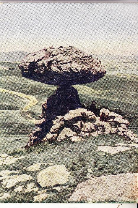 LESOTHO - LERIBE DISTRICT, Mushroom Rock, 1941
