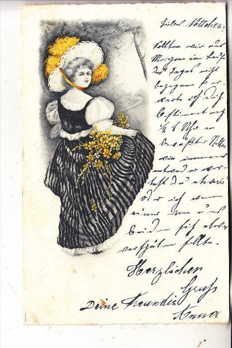 MODE, Künstler-Karte 1901