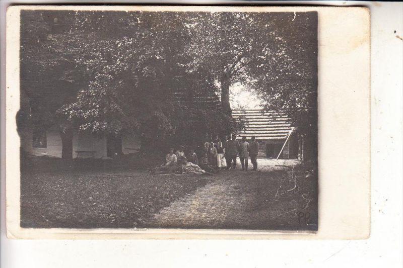 POLEN / POSKA - GLUCHOW, 1.Weltkrieg, Quartier in Gluchow, Photo-AK