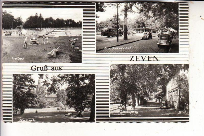 2730 ZEVEN, Freibad, Busbahnhof...