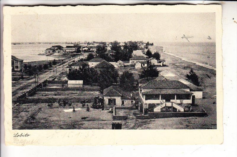 ANGOLA - LOBITO, Panorama, 1957, Knick