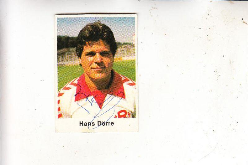 Sport Fussball Rot Weiss Essen Hans Dorre Autogramm