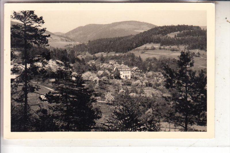 0-6405 SCHALKAU - TRUCKENTHAL, Ortsansicht, 1957