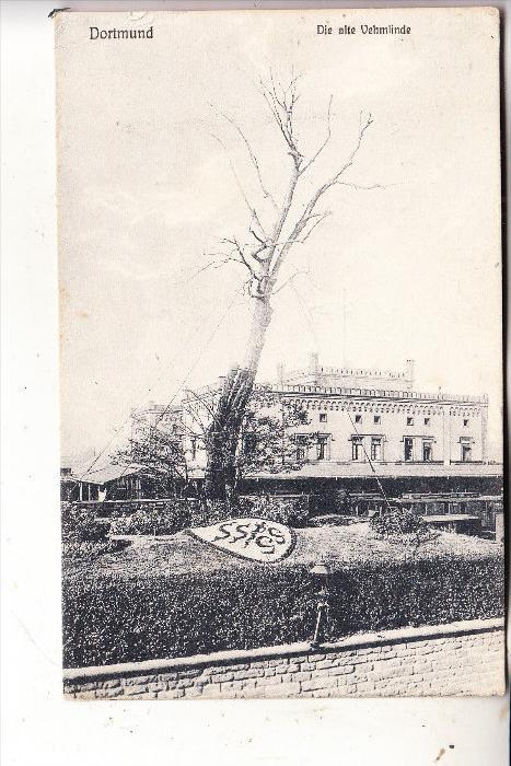 4600 DORTMUND, Die alte Vehmlinde, 1909