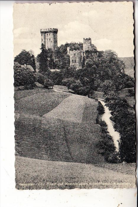 5530 GEROLSTEIN - PELM, Kasselburg, 1962