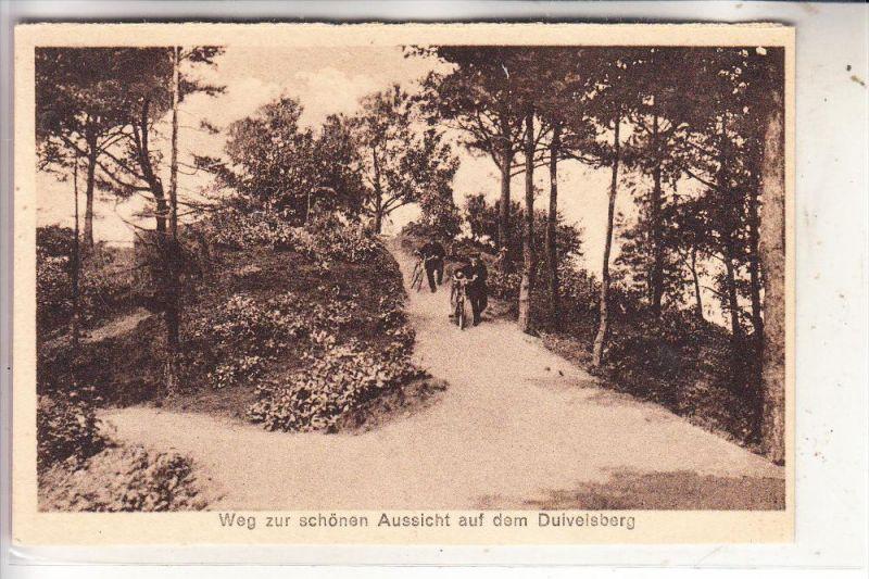 4193 KRANENBURG, Weg zur schönen Aussicht auf dem Duivelsberg