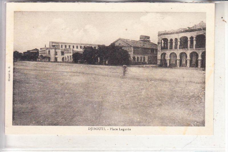 DJIBOUTI / DSCHIBUTI, Place Lagarde