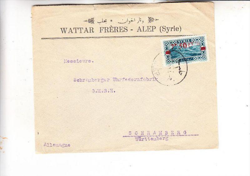 SYRIA / SYRIEN - 1930, Michel 305, Einzelfrankatur nach Deutschland