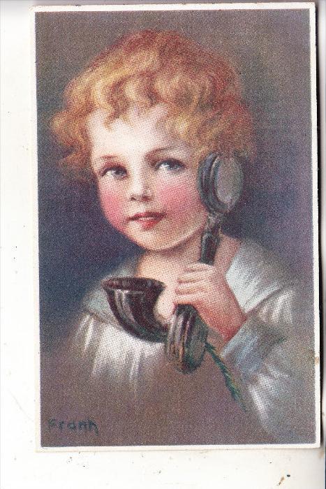 KINDER / Children / Enfants / Bambini / Ninos / Kinderen - Mädchen mit Telefon