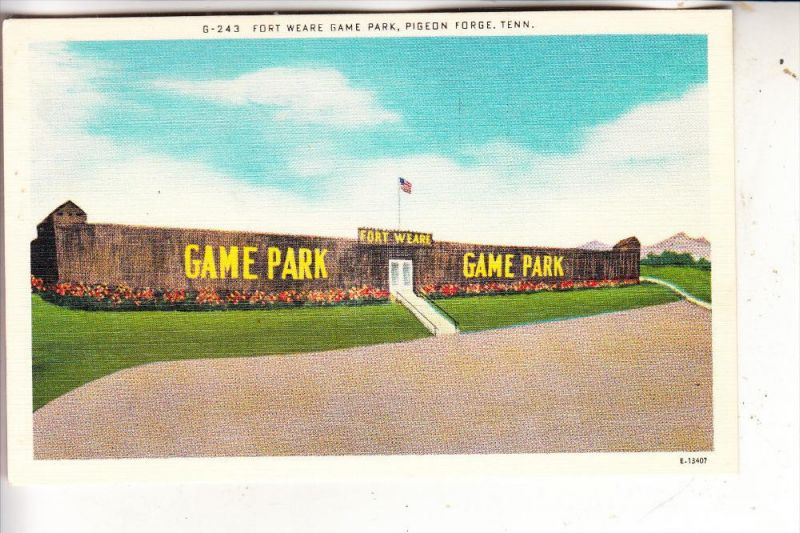 USA - TENNESSEE - FORT WEARE, Game Park