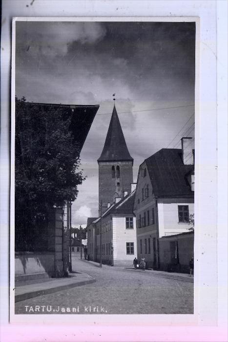 EESTI / ESTLAND - TARTU / DORPAT, Jaani kirik
