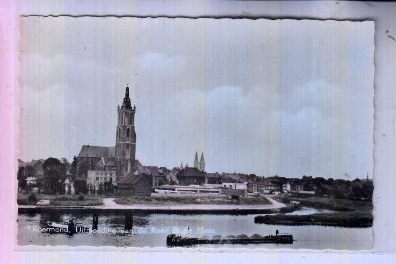 NL - LIMBURG - ROERMOND, Uitmonding van de Maas
