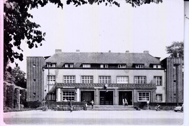 0-1292 WANDLITZ, 1964, Bahnhof