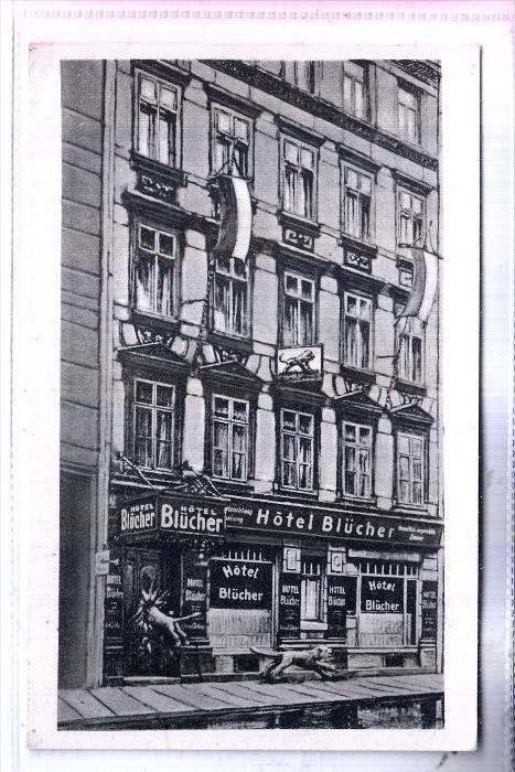 0-7000 LEIPZIG, Hotel Blücher, 1935