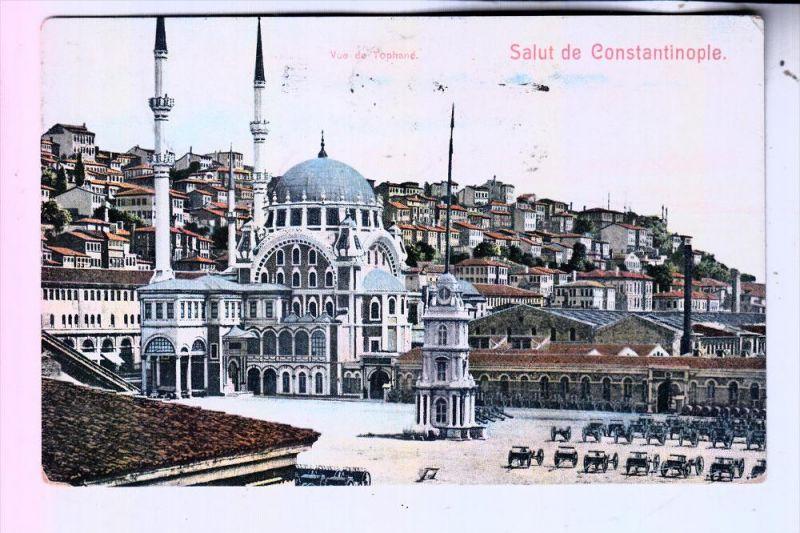 TR 34... ISTANBUL / Constantinople, Salut de Constantinople, 1908