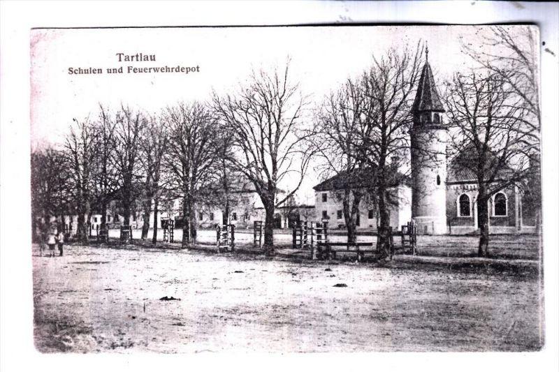 ROMANIA / RUMÄNIEN - PREJMER / TARTLAU, Schulen und Feuerwehrdepot, 1922