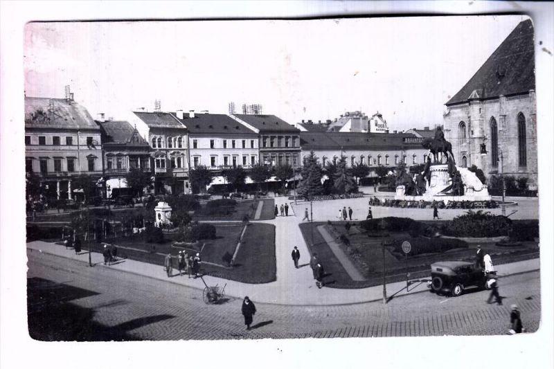 ROMANIA / RUMÄNIEN - CLUJ-NAPOCA / KLAUSENBURG / KOLOZSVAR, Piata Unini, 1933