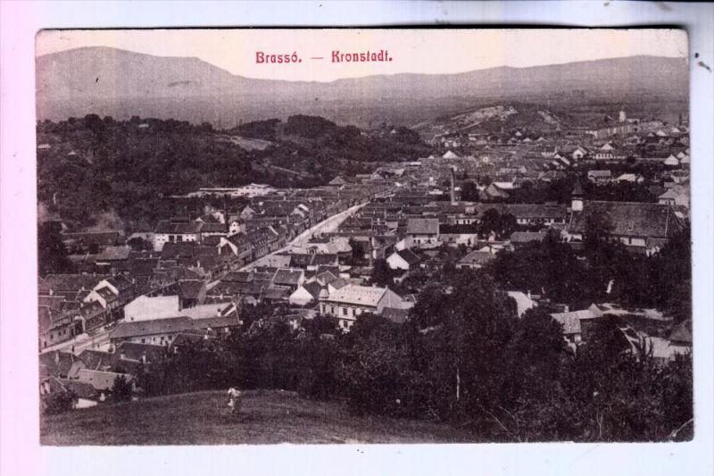 ROMANIA / RUMÄNIEN - BRASSO / KRONSTADT, Panorama