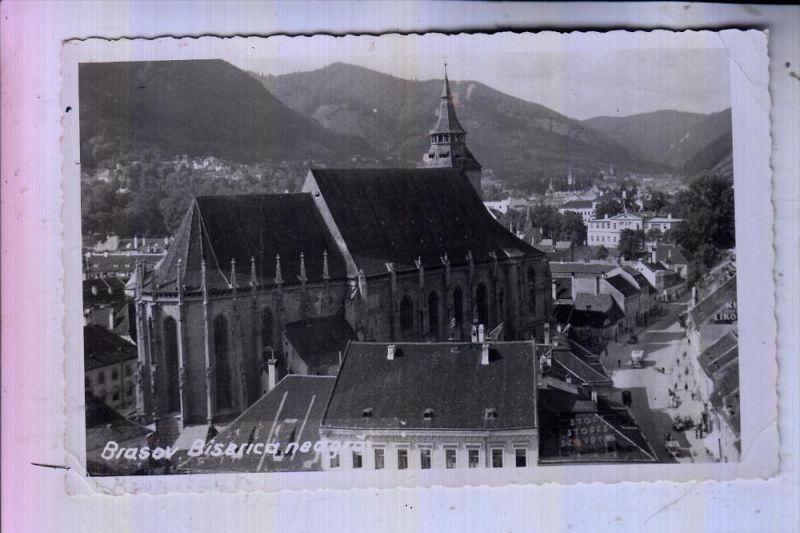 ROMANIA / RUMÄNIEN - BRASOV / KRONSTADT, Schwarze Kirche, kl. Knick