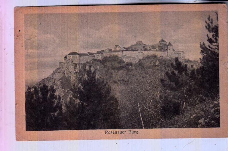 ROMANIA / RUMÄNIEN - RASNOV / ROSENAU, Rosenauer Burg, 1932