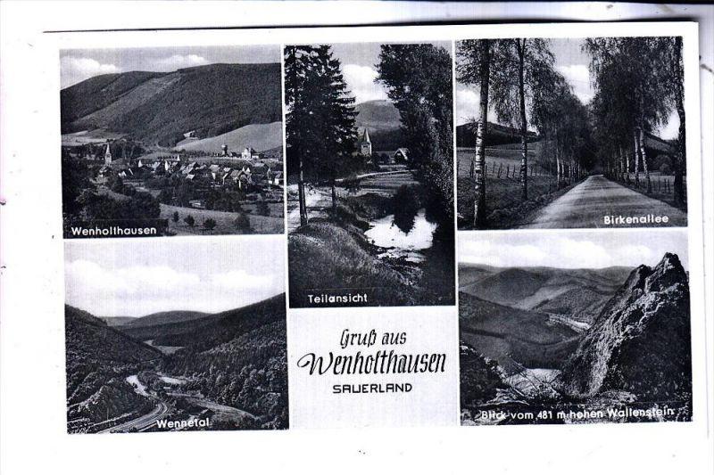5779 ESLOHE - WENHOLTHAUSEN, Mehrbild, 50er Jahre