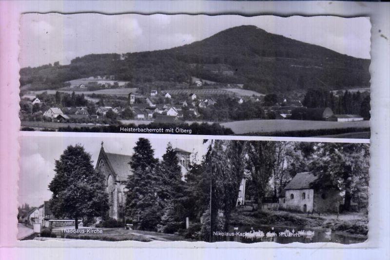 5330 KÖNIGSWINTER - HEISTERBACHERROTT, Panorama, Thaddäus-Kirche, Nikolaus-Kapelle