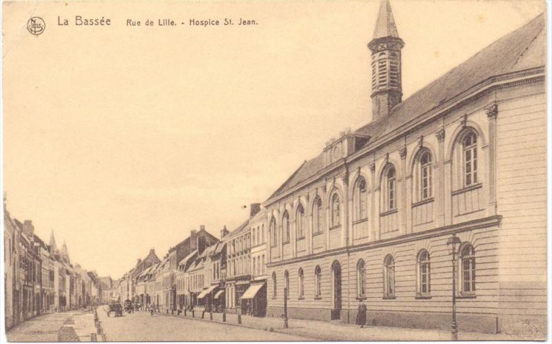 F 59480 LA BASSEE, Rue de Lille, Hospice St. Jean