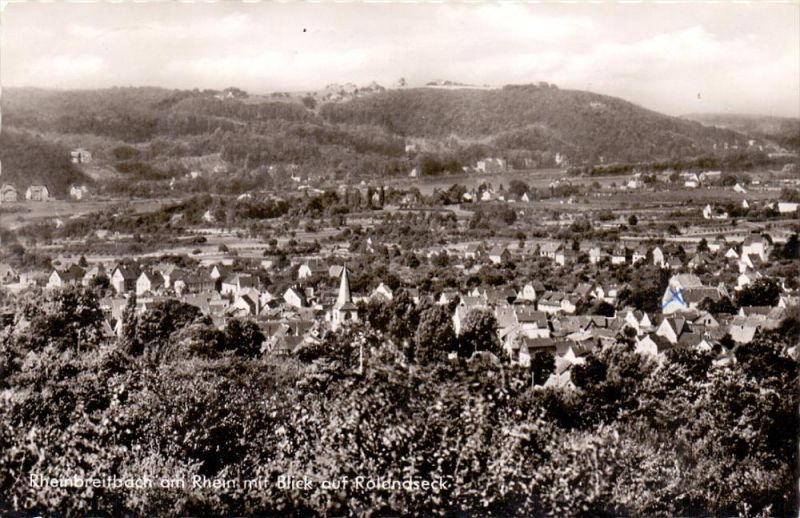 5342 RHEINBREITBACH, Panorama, Blick auf Rolandseck, 1965